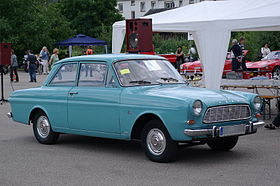 Ford Taunus from the 1950's