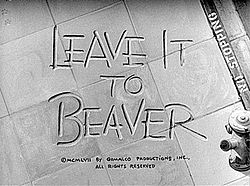 Leave it to Beaver!