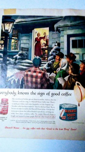 Retro Coffee Ad