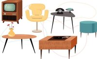 Retro furniture of the 50s!
