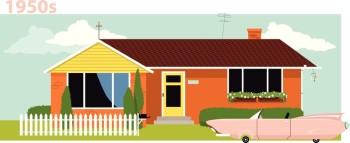 1950s Suburban Home