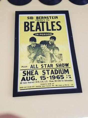 Beatle concert Poster 1965
