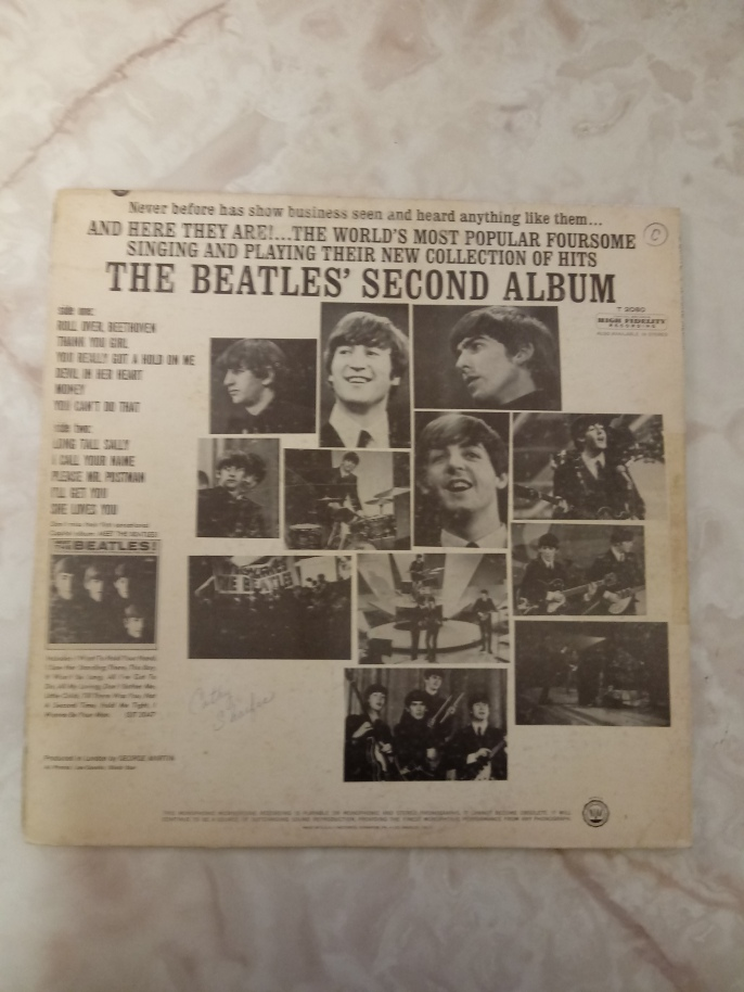 Back of Seccond Album