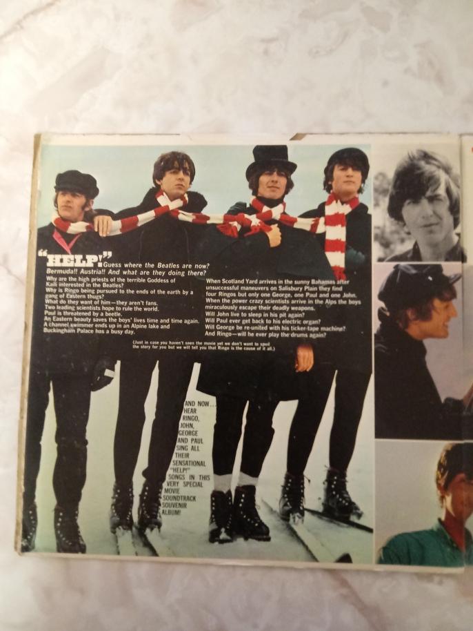 Inside of Help Album