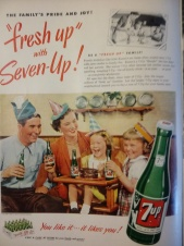 7Up Ad 1951