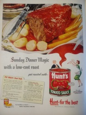 Hunts Ad 1951