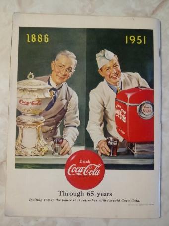 Coke Ad 1951