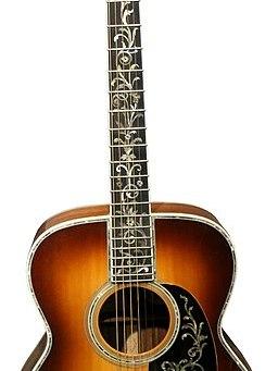 Johnny Cash's Martin Guitar_(Johnny_Cash_Museum,_Nashville,_TN)